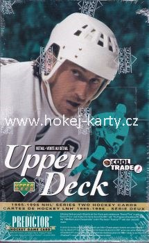 1995-96 UD Series 2 Hockey Retail Box