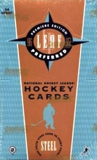 1996-97 Leaf Preferred Hockey Box