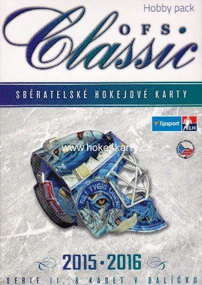 2015-16 OFS Classic Series 2 Hockey MONSTER HOBBY Box