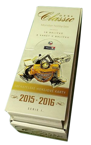 2015-16 OFS Classic Series 1 Hockey Monster HOBBY Box