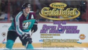 1998-99 Topps Gold Label Hockey Box