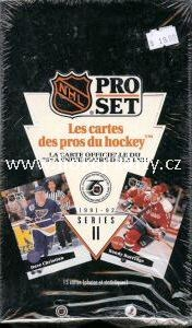 1991-92 Pro Set Series 2 French Hockey Hobby Box