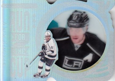 insert karta ANZE KOPITAR 16-17 Black Diamond Run for the Cup /99