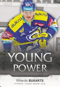 insert RC karta RICHARDS BUKARTS 17-18 OFS Classic Ser. 1 Young Power /99