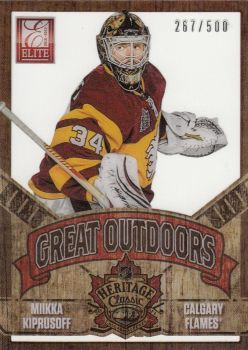 insert karta MIIKKA KIPRUSOFF 12-13 Rookie Anthology Great Outdoors /500