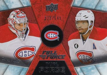 insert karta PRICE/SUBBAN 15-16 Full Force Dual Force /649