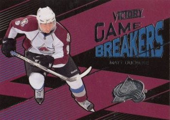 insert karta MATT DUCHENE 10-11 Victory Game Breakers číslo GB-MD