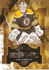insert karta TIM THOMAS 11-12 Artifacts Star /999