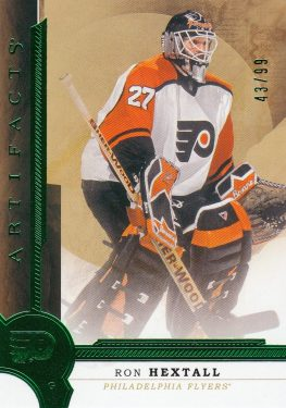 insert karta RON HEXTALL 16-17 Artifacts Emerald /99