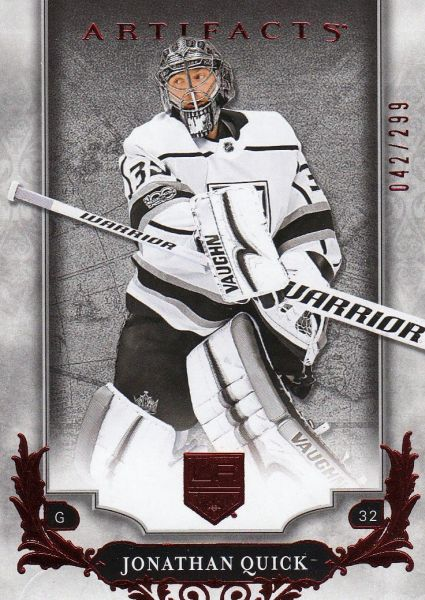 paralel karta JONATHAN QUICK 18-19 Artifacts Ruby /299