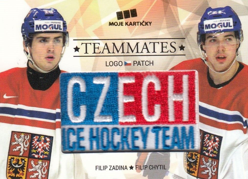 patch karta NEČAS/KAUT 17-18 Czech Ice Hockey Team Teammates /50