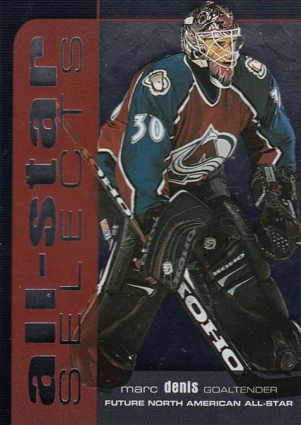 insert karta MARC DENIS 99-00 BAP Memorabilia All-Star Selects Silver