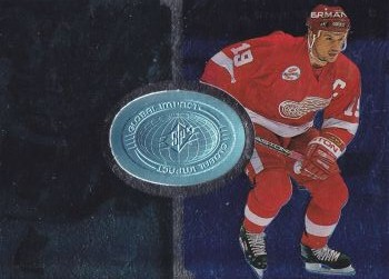 insert karta STEVE YZERMAN 98-99 SPx Finite Global Impact /6950