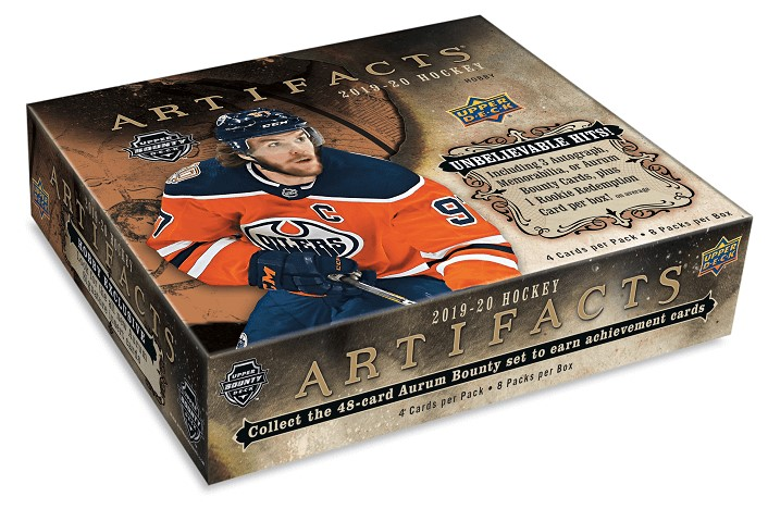 2019-20 UD Artifacts Hockey Hobby Box