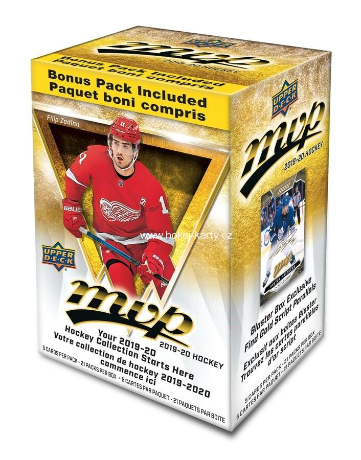 2019-20 UD MVP Hockey Blaster NHL GLOBAL SERIES Box
