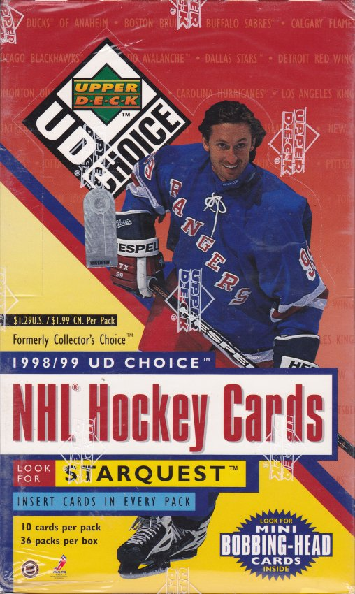 1998-99 UD Choice Hockey Blaster Box