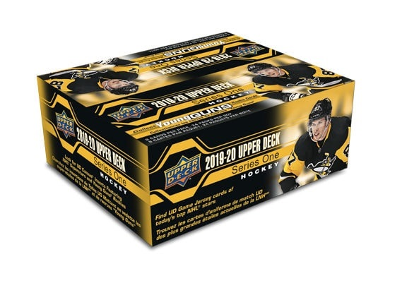 2019-20 UD Series 1 Hockey Retail Box