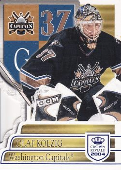 paralel karta OLAF KOLZIG 03-04 Crown Royale Blue /850