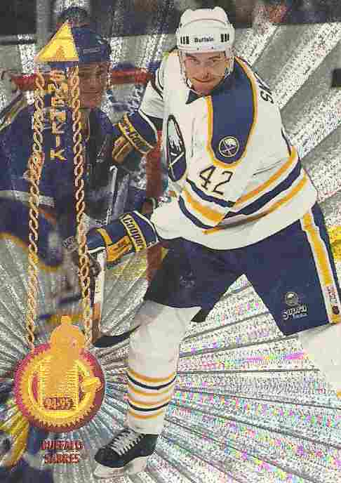 paralel karta RICHARD ŠMEHLÍK 94-95 Pinnacle Rink Collection číslo 17