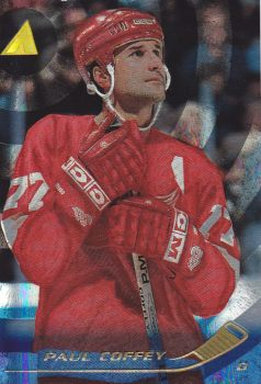 paralel karta PAUL COFFEY 95-96 Pinnacle Rink Collection číslo 14