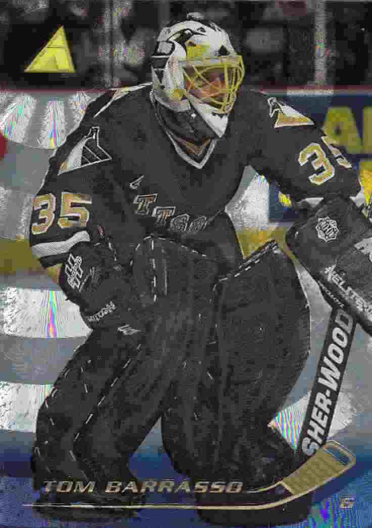 paralel karta TOM BARRASSO 95-96 Pinnacle Rink Collection číslo 97