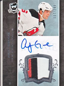 AUTO RC patch ANDY GREENE 07-08 UD The CUP /249