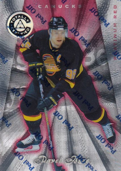 paralel karta PAVEL BURE 97-98 Totally Certified Platinum Red /6199