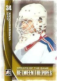 řadová karta JOHN VANBIESBROUCK 13-14 BTP Greats of the Game číslo 121
