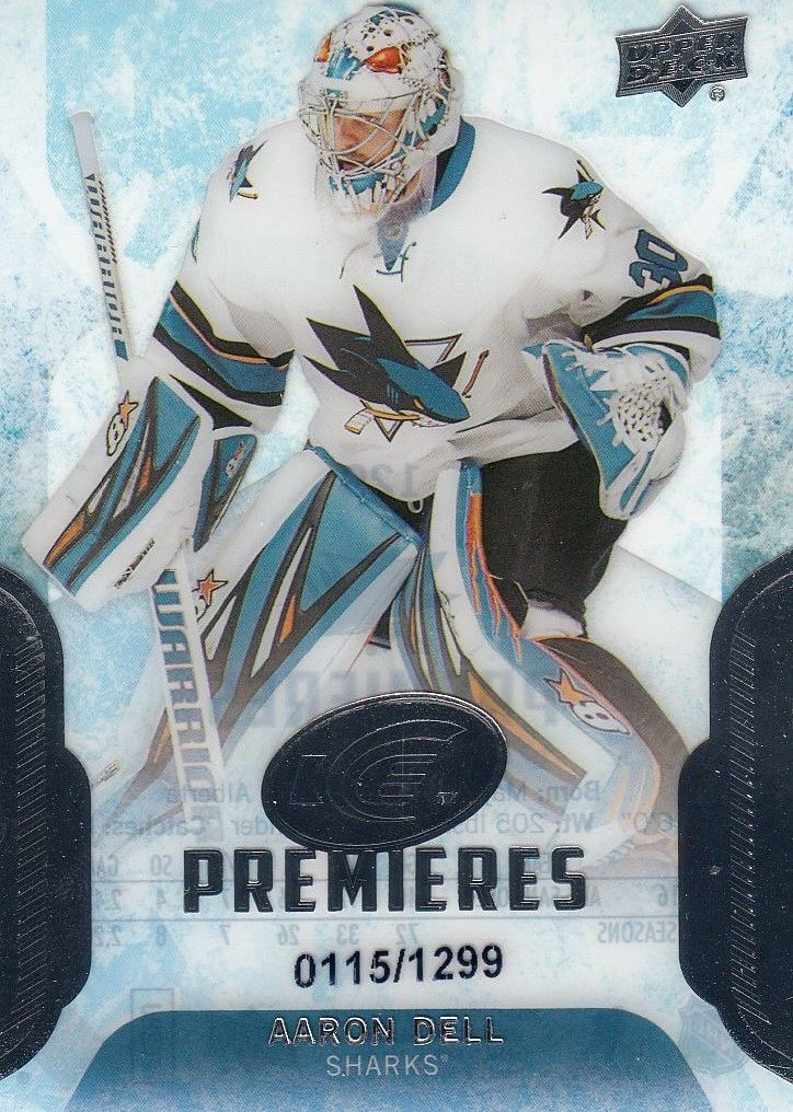 insert RC karta AARON DELL 16-17 UD Ice Premieres /1299