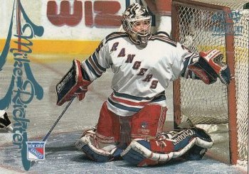 paralel karta MIKE RICHTER 97-98 Pacific Paramount Ice Blue číslo 119