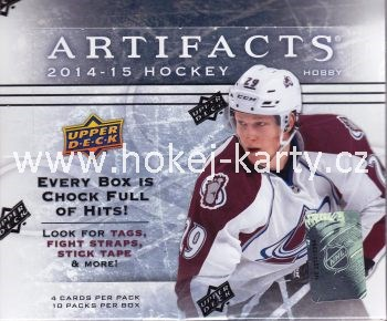 2014-15 UD Artifacts Hockey Hobby Box