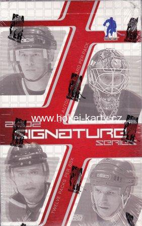 2001-02 ITG BAP Signatures Series Hockey Hobby Box