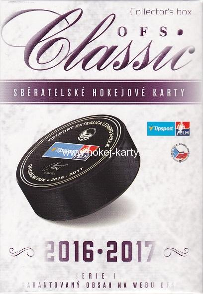 2016-17 OFS Classic Series 1 Hockey Collector´s Box