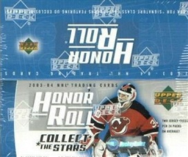 2003-04 UD Honor Roll Hockey Hobby Box