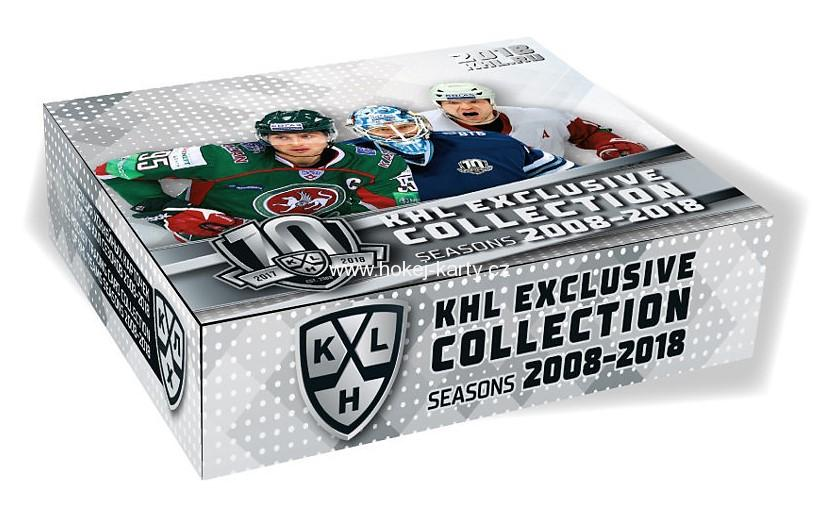 2018-19 KHL Exclusive Collection Hockey Hobby Box