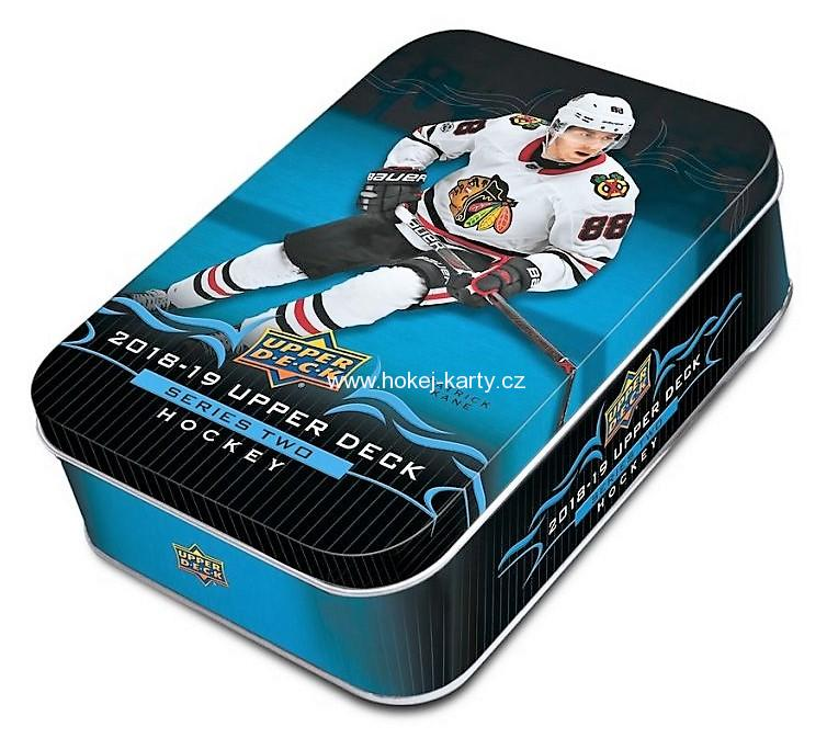 2018-19 UD Series 2 Hockey Retail TIN Box