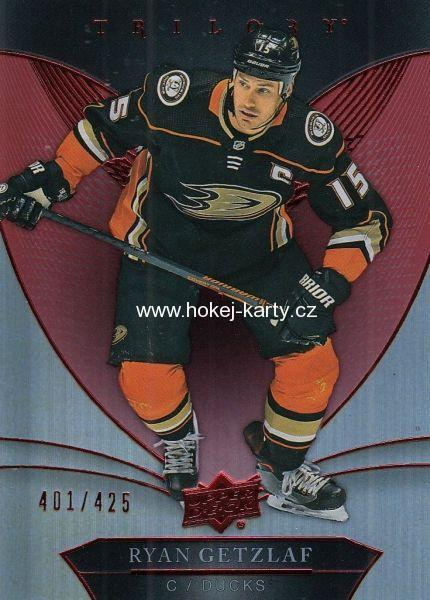 paralel karta RYAN GETZLAF 18-19 Trilogy Red /425