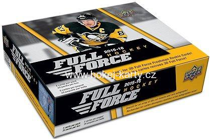 2015-16 UD Full Force Hockey Retail Box