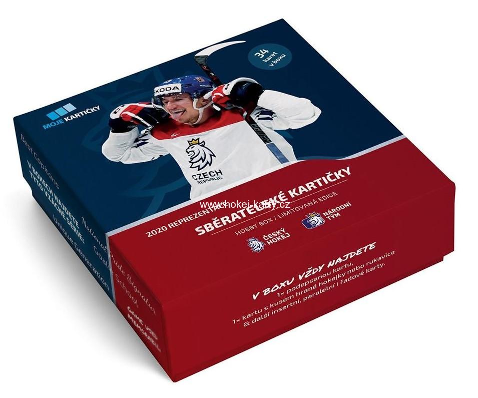 2019-20 MK Czech Ice Hockey Team Hobby Box