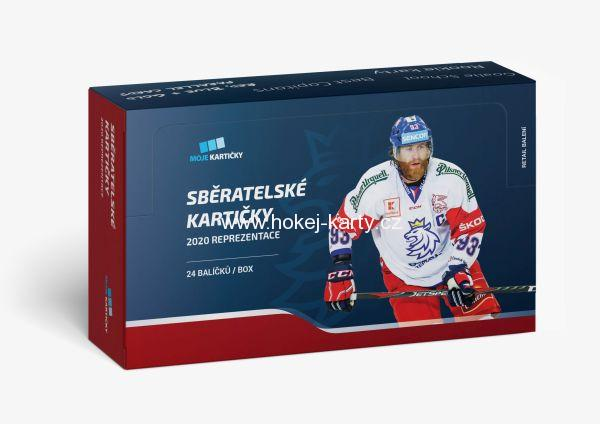 2019-20 MK Czech Ice Hockey Team Retail Box