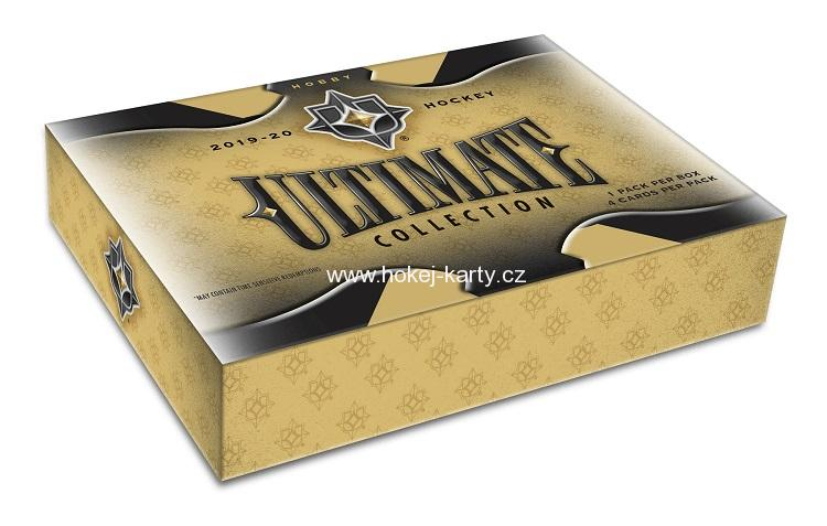 2019-20 UD Ultimate Hockey Hobby Box