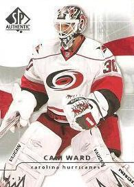 řadová karta CAM WARD 08-09 SP AuUthentic