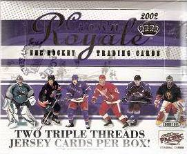 2001-02 Pacific Crown Royale HOBBY Box
