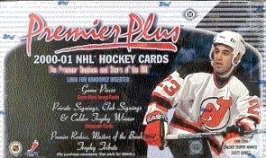 2000-01 Topps Premier Plus Hobby Box