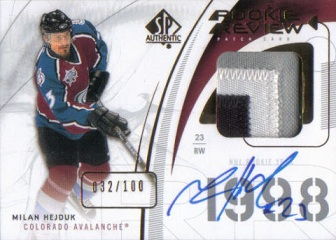 patch karta MILAN HEJDUK 09-10 SP Authentic /100