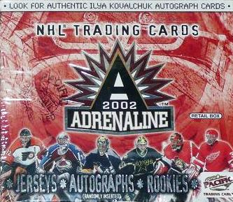2001-02 Pacific Adrenaline Hockey Retail Box