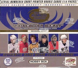 2002-03 Pacific Calder Hockey HOBBY Box