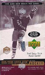 1999-00 UD Series 2 Hockey Retail Box