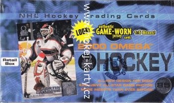 1999-00 Pacific Omega Hockey Retail Box
