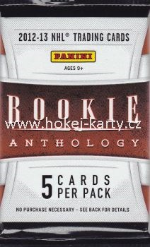 2012-13 PANINI Rookie Anthology Hockey Hobby Balíček